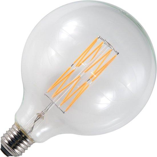 SPL LED filament globelamp 8,5W grote fitting E27 125mm