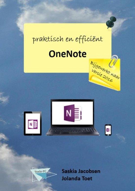 OneNote praktisch en efficiënt