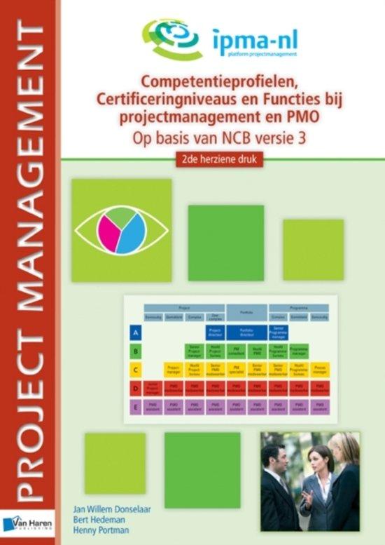 Competentieprofielen, Certificeringniveaus en Fucties bij projectmanagement en PMO