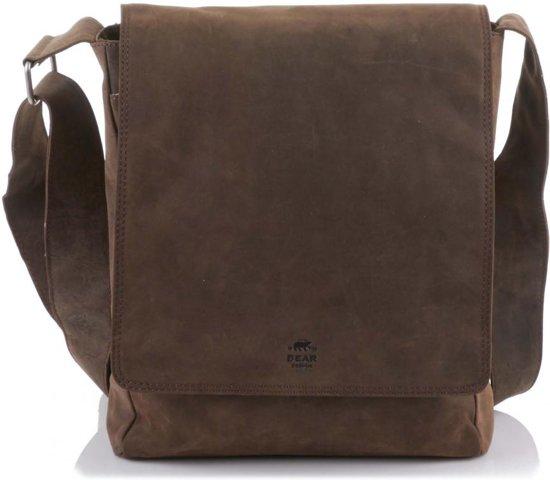 8b81a1db80f bol.com | Bear design Schoudertas overslagtas D.Bruin
