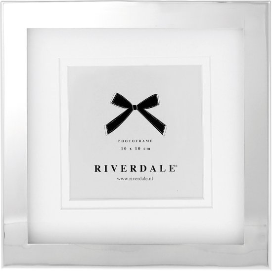 Riverdale - Fotolijst - Nickel - 10x10 cm