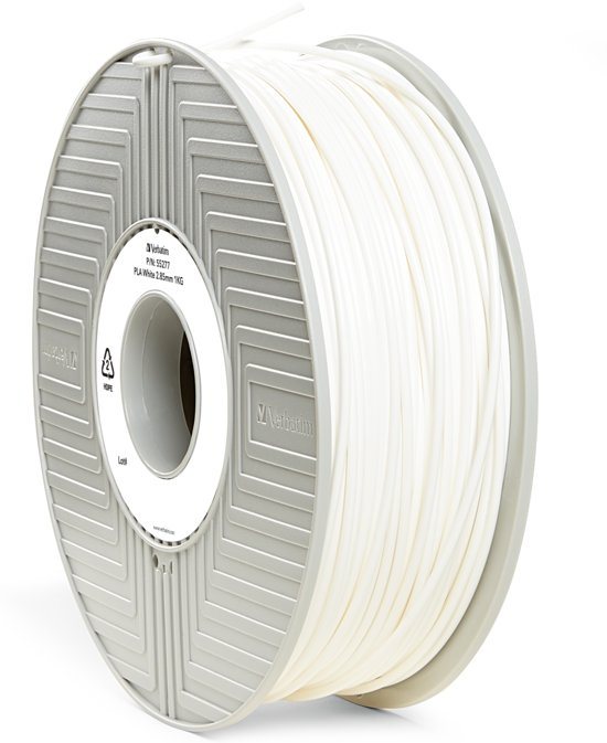 Verbatim 55277 PLA-filament 2.85 mm 1 kg - Wit