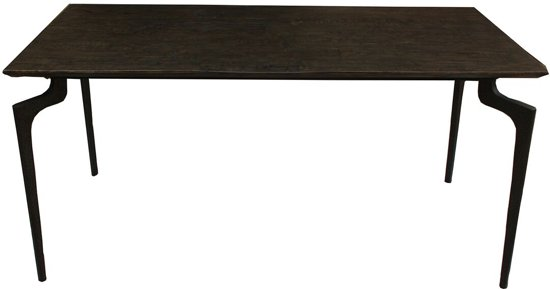 Bruine Houten Eettafel.Eettafel Wooden Donker Bruin Hout 76x80x160