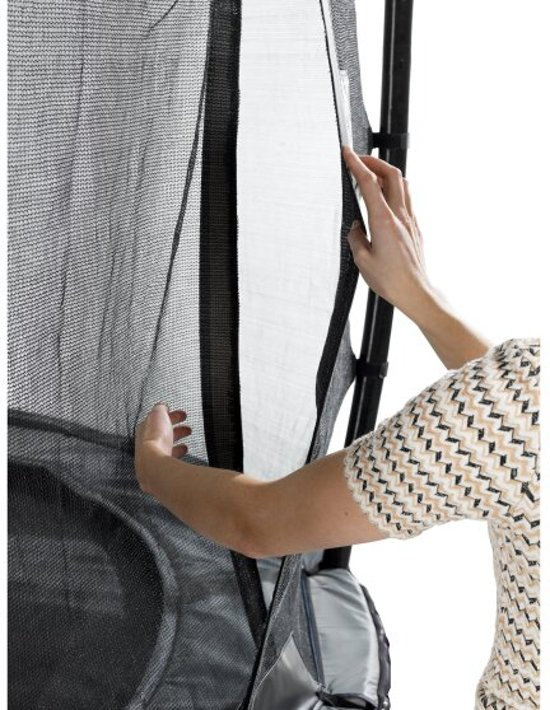 EXIT Elegant Premium Inground Trampoline 244 x 427 cm met Veiligheidsnet