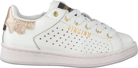 e42721d0082 Vingino Meisjes Sneakers Torneo Low - Wit - Maat 34 | Marathonreizen.NU