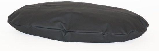 Comfort Kussen Hondenkussen Ovale leatherlook 77 x 50 cm - Antraciet