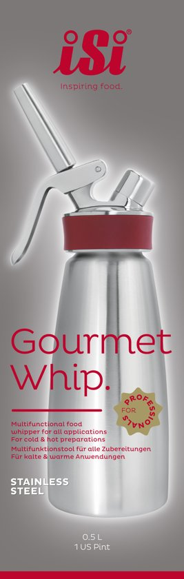 iSi Gourmet Whip Plus 0,5 L