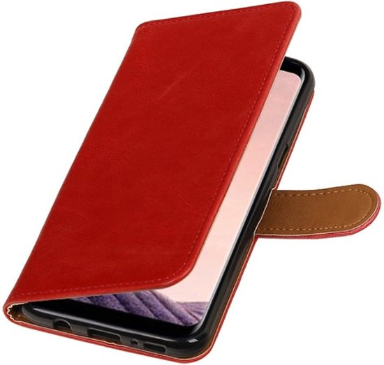 BestCases - Samsung Galaxy J5 2017 J530F Pull-Up booktype hoesje rood