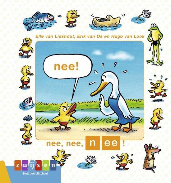 Boek cover Kleuters samenleesboek - Nee, nee, nee! van Erik van Os (Hardcover)