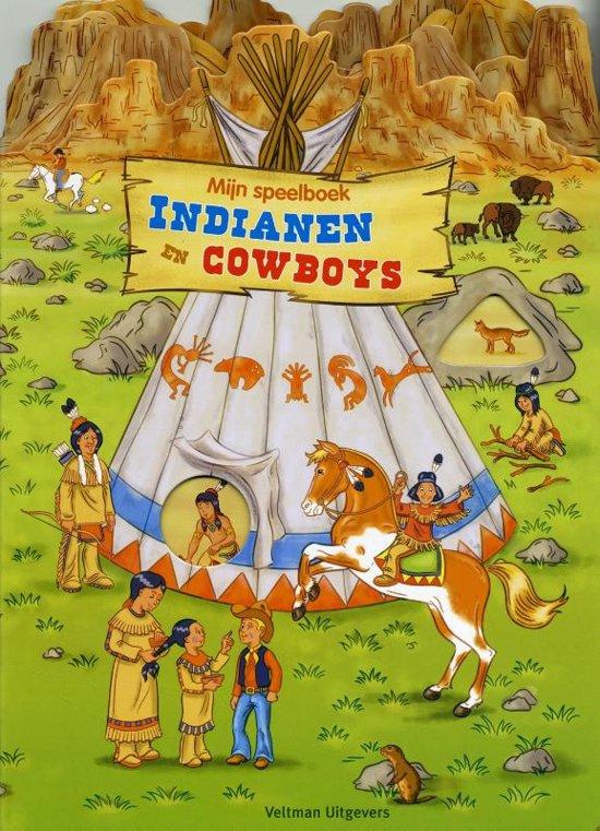 bol com   Mijn speelboek Indianen en cowboys, Carola Von Kessel   9789048309115   Boeken
