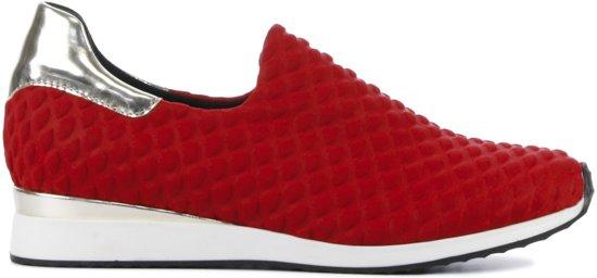 Lina Locchi Vrouwen Sneakers Hiuma - Rood - Maat 39