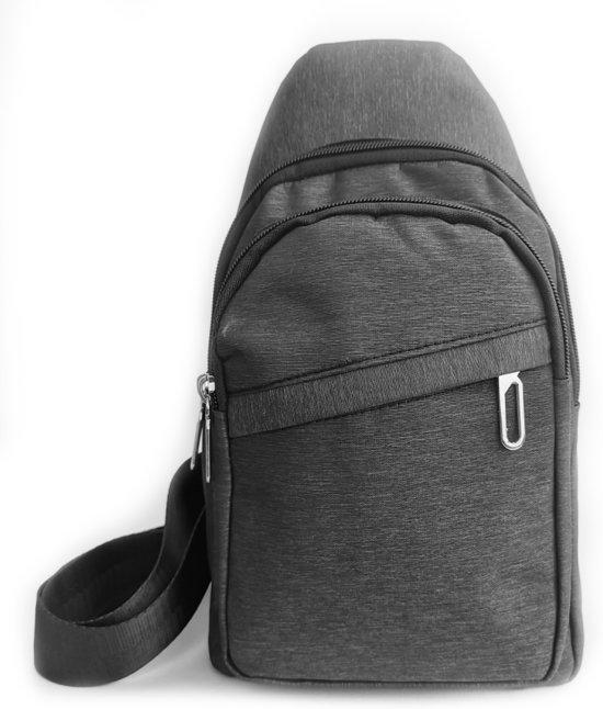 | Crossbody tas Sling bag Heren | Grijs