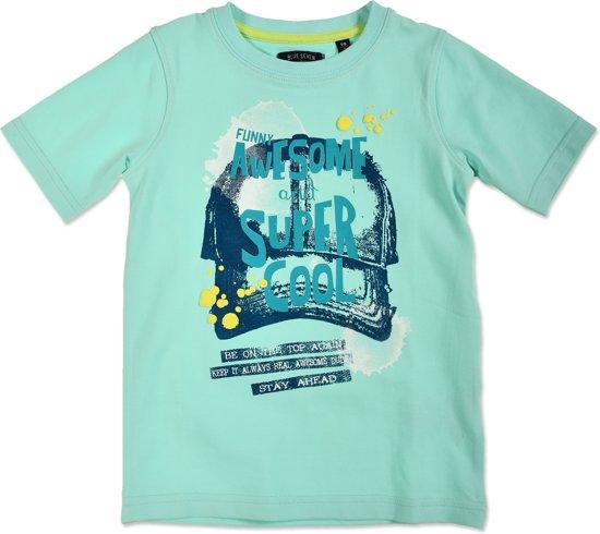 08ad4365e65424 bol.com | Blue Seven Jongens T-shirt - zee blauw - Maat 128
