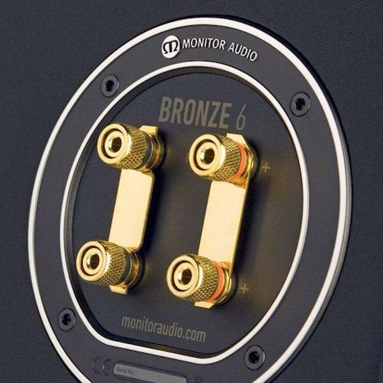 Monitor Audio Bronze 6 - Vloerstaande Speaker - walnoot