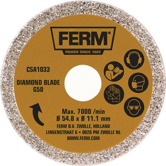 FERM CSA1033 Diamant zaagblad G50 - Voor CSM1038