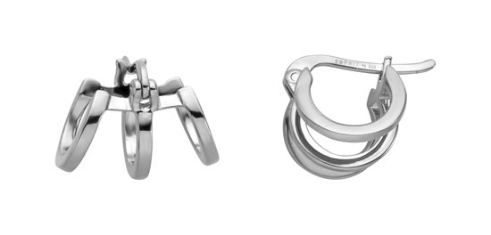Esprit ESER00161100 Iva Oorringen - Zilver - Zilverkleurig