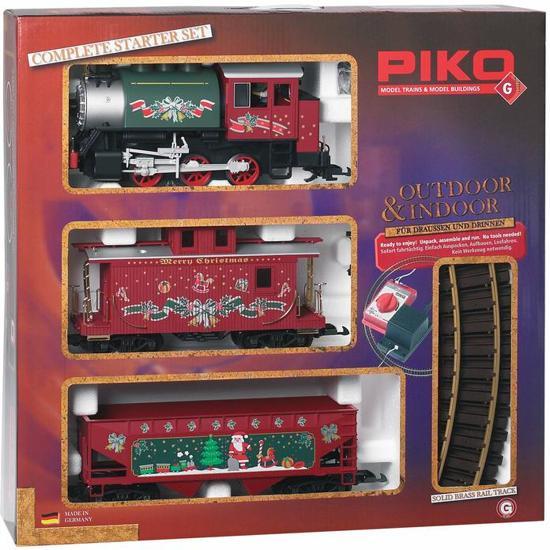 Afbeelding van Piko 37105 G Startset kersttrein speelgoed