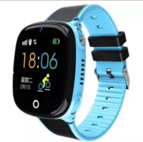 Optible Babino 2 - Kinder Horloge - Smartwatch Kinderen Familie Bluetooth Stappenteller Smart Horloge Waterdicht Wearable Apparaat GPS SOS Call Kinderen Veilig Voor Android