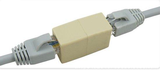 Populair bol.com | Netwerkkabel verlengstukje (RJ45) cat 5 UTP koppelstuk IG62
