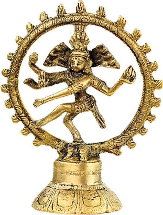 Shiva Nataraj messing 1 kleur - 20 cm - 780 g