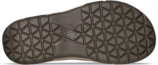 Mannen Teva Bruin Maat Langdon 43 Leather Herenslippers Slippers YUzaYA