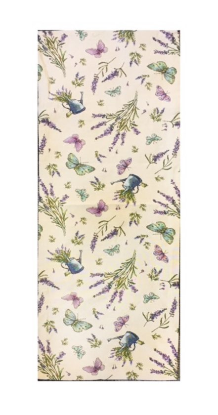 4529baf5f96809 Gobelin Tafelkleed Lavendel Vlinder Loper 90 cm