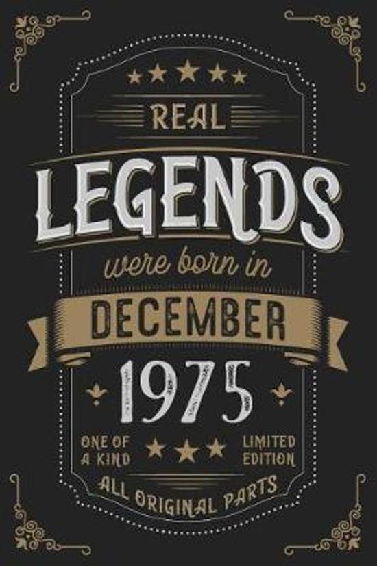 Real Legends were born in December 1975