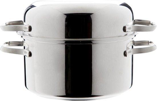 Cosy&Trendy Mosselpan - � 18 cm - Inox (18/10) -Inductie