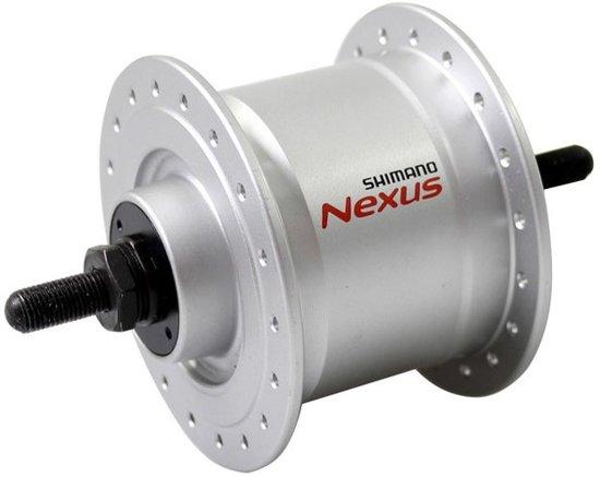 Shimano Naafdynamo Nexus Dh-c3000-2n-nt Zilver