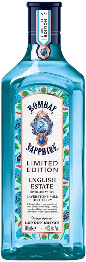 Bombay Sapphire English Estate - Limited Edition - 70 cl