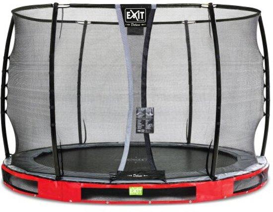 """EXIT Elegant Inground Trampoline à 305 cm met Deluxe Veiligheidsnet """