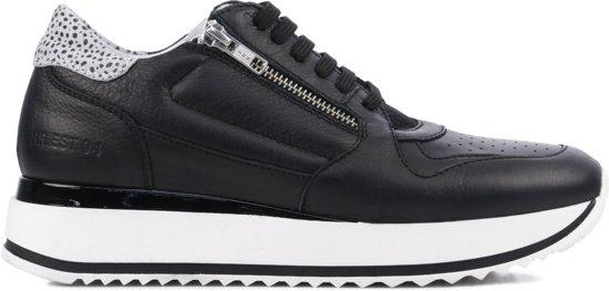 Rag 38 Sneakers Maat Red 76586Zwart Dames N8wm0n