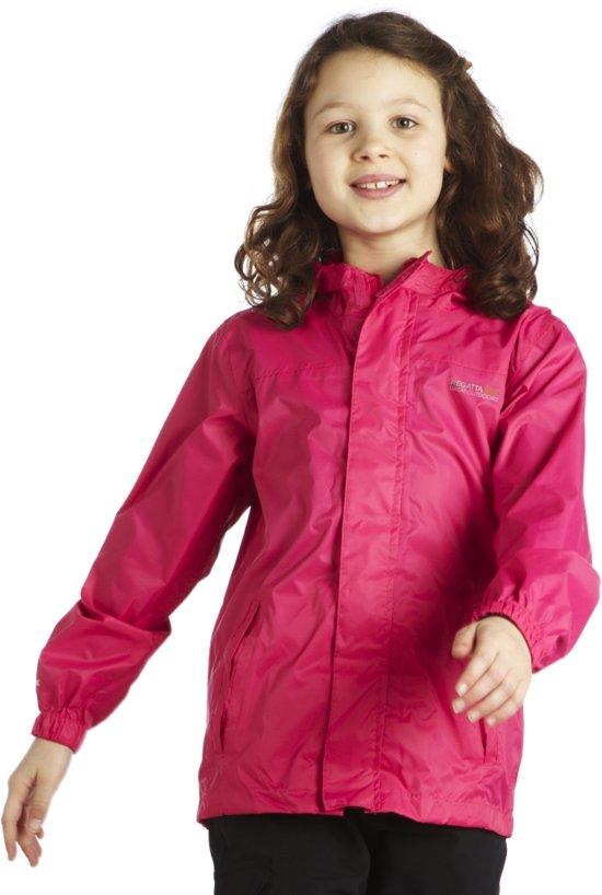 Regatta Kids Pack-It - Regenjas - Dames - 116 - Roze