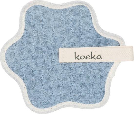 Koeka - Speendoekje Rome -  One Size - soft blue