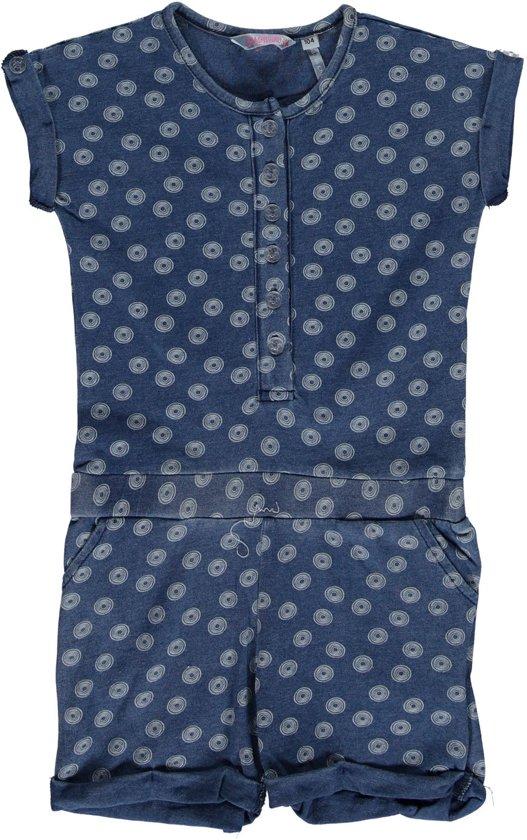 nieuwe high aankomen gezellig fris bol.com   Bampidano Meisjes Jumpsuit denim Blauw - Maat 104