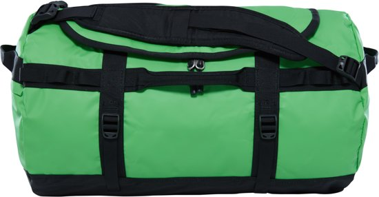 The North Face Base Camp Duffel Reistas S - 50 L - Classic Green / TNF Black - vernieuwd model