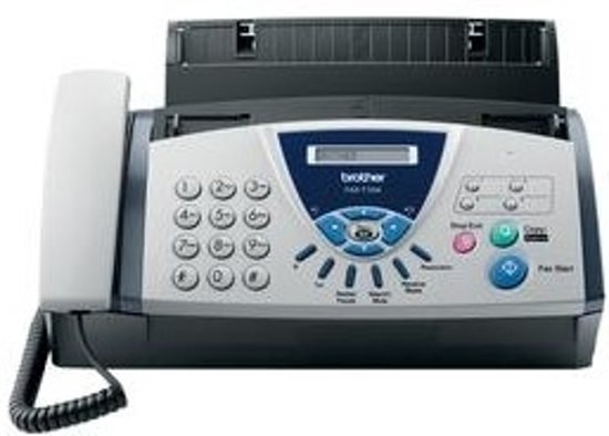 FAX BROTHER FAXT104 BLANC