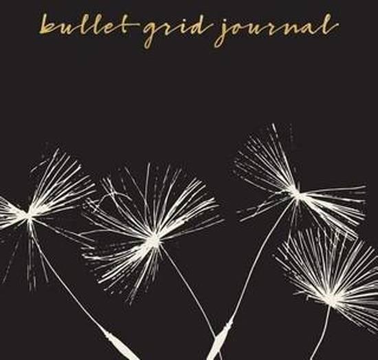 Bullet Grid Journal - Zwart, paardenbloem