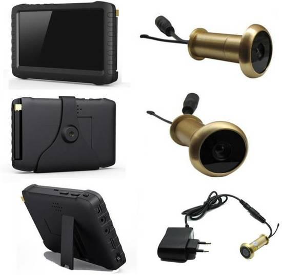 Bedwelming bol.com | DRAADLOZE DEURSPION Camera Wifi - OPNAME scherm KO23