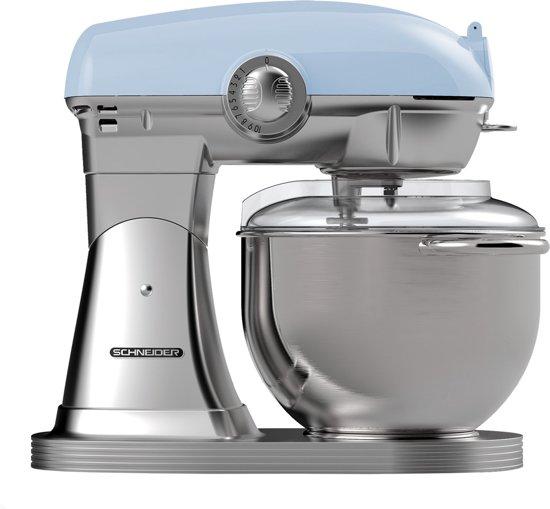 Schneider SCFP57 BL Retro - Keukenmachine - Light Blue