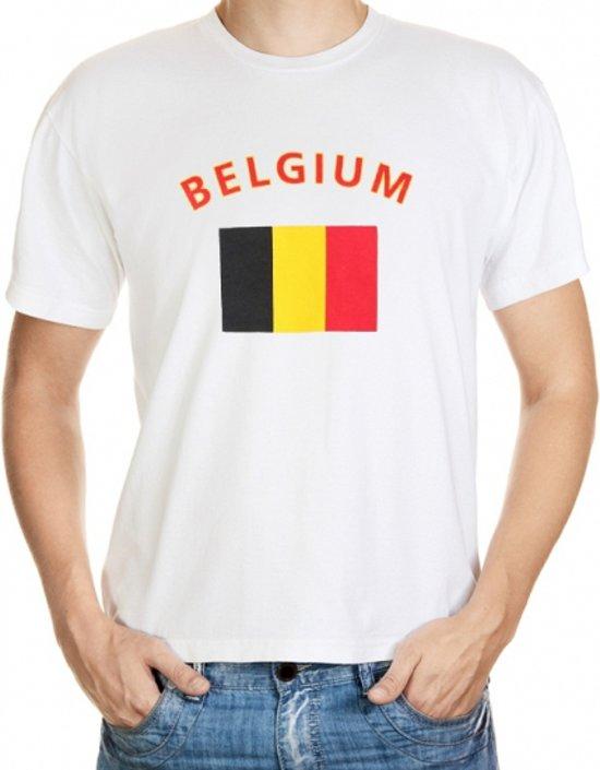 Belgium t-shirt met vlag M
