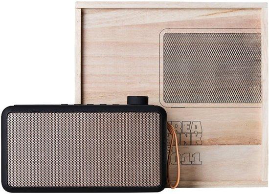 Kreafunk tRADIO DAB+ Radio met Bluetooth