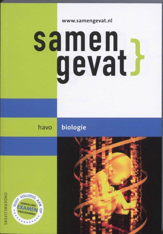 Boek cover Samengevat / Havo / deel Biologie van E.J. van der Schoot (Paperback)