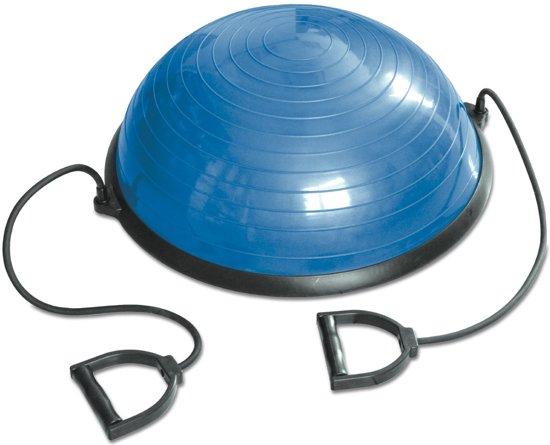 RS Sports Balanstrainer - Balansbal incl weerstandsbanden - blauw