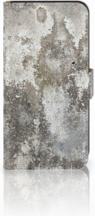Samsung Galaxy E7 Boekhoesje Design Beton
