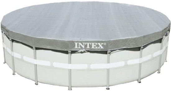 Intex Deluxe Zwembad afdekzeil à 488 cm