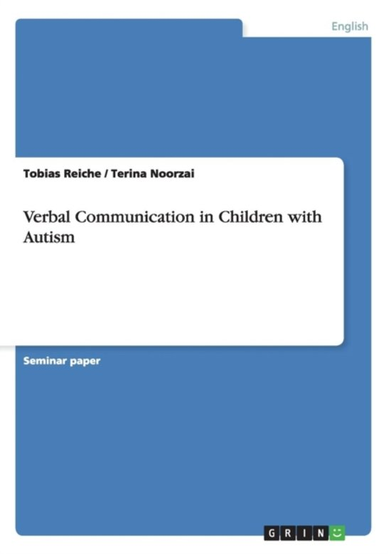 Verbal Communication in Children with Autism