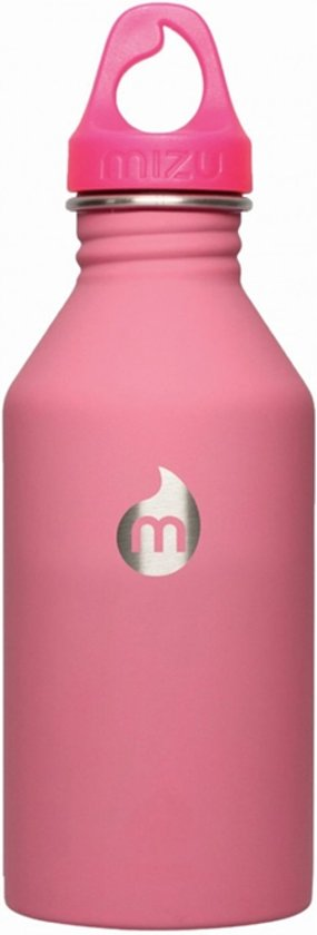 Mizu M6 Waterfles Soft Touch Roze 600 ml