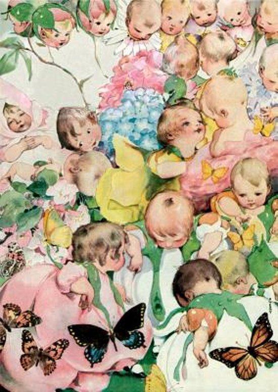 Afbeelding van het spel Garden of Babies New Child Greeting Cards