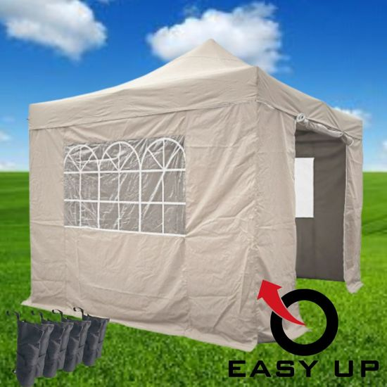 Easy Up - Partytent 3x3 - Beige